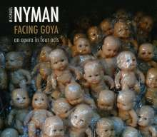 Michael Nyman (geb. 1944): Facing Goya, 2 CDs