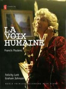 Francis Poulenc (1899-1963): La Voix Humaine für Sopran & Klavier, 1 DVD und 1 Blu-ray Disc
