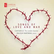 Cantabile - The London Quartet: Songs Of Love And War, CD