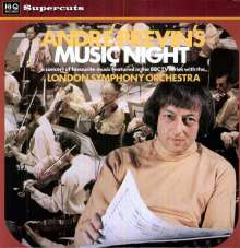 Andre Previn's Music Night with London Symphony Orchestra (180g), LP