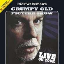 Rick Wakeman: Grumpy Old Picture Show: Live On Tour, 2 CDs und 1 DVD