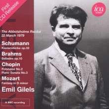 Emil Gilels,Klavier, CD
