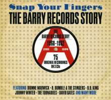 Snap Your Fingers: The Barry Records Story, 3 CDs