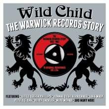 Wild Child: The Warwick Records Story, 3 CDs