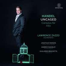 """Georg Friedrich Händel (1685-1759): Kantaten für Countertenor - """"Handel uncaged"""", CD"""