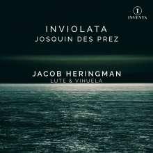 Jacob Heringman - Inviolata Josquin Desprez, CD