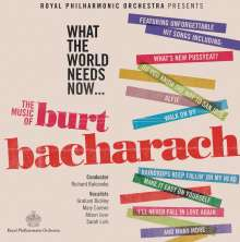 Royal Philharmonic Orchestra: Filmmusik: What The World Needs Now: The Music Of Burt Bacharach, CD