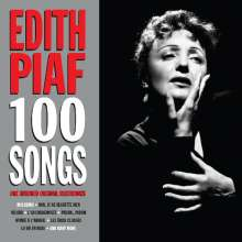 Edith Piaf (1915-1963): 100 Songs, 4 CDs