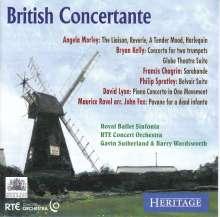 British Concertante, CD