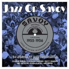 Jazz On Savoy 1955 - 1956, 3 CDs
