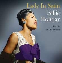 Billie Holiday (1915-1959): Lady In Satin (180g) (Translucent Vinyl), LP