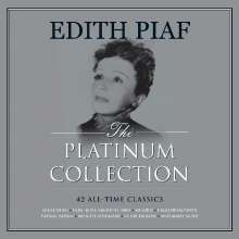 Edith Piaf (1915-1963): The Platinum Collection (White Vinyl), 3 LPs