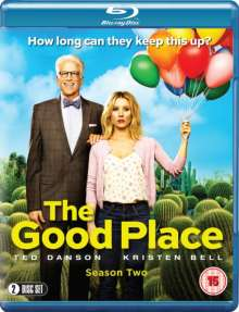 The Good Place Season 2 (Blu-ray) (UK Import), 2 Blu-ray Discs