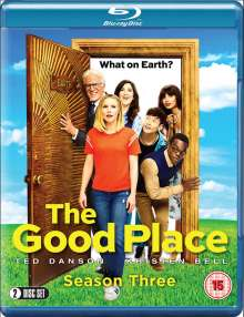 The Good Place Season 3 (Blu-ray) (UK Import), 2 Blu-ray Discs