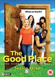 The Good Place Season 3 (UK Import), 2 DVDs