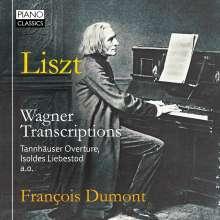 Franz Liszt (1811-1886): Transkriptionen nach Wagner-Opern, CD