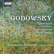 Leopold Godowsky (1870-1938): Klavierwerke, CD