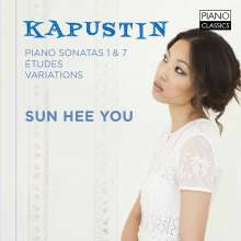 Nikolai Kapustin (1937-2020): Klaviersonaten Nr.1 & 7 (opp.39 & 64), CD