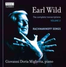 Earl Wild (1915-2010): Sämtliche Transkriptionen & Klavierwerke Vol.2, CD