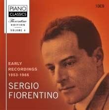 Sergio Fiorentino Edition 4 - Early Recordings, 10 CDs