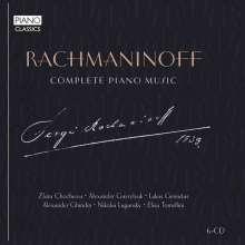 Sergej Rachmaninoff (1873-1943): Sämtliche Klavierwerke, 6 CDs