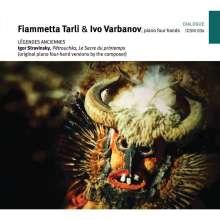 Igor Strawinsky (1882-1971): Petruschka für Klavier 4-händig, CD