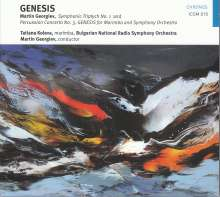 "Martin Georgiev (geb. 1983): Percussion-Konzert Nr.3 ""Genesis"", CD"