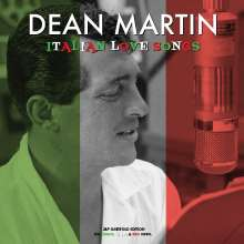 Dean Martin: Italian Love Songs (Green, White & Red Vinyl), 3 LPs