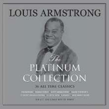 Louis Armstrong (1901-1971): The Platinum Collection (White Vinyl), 3 LPs