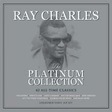 Ray Charles: The Platinum Collection (Colored Vinyl), 3 LPs