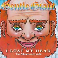 Gentle Giant: I Lost My Head: The Albums 1975 - 1980 (2012 Remastered), 4 CDs