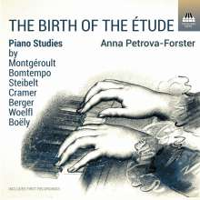 Anna Petrova-Forster - The Birth of the Etude, CD