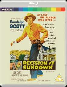Decision At Sundown (1957) (Blu-ray) (UK Import), Blu-ray Disc