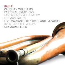 "Ralph Vaughan Williams (1872-1958): Symphonie Nr.3 ""Pastoral"", CD"