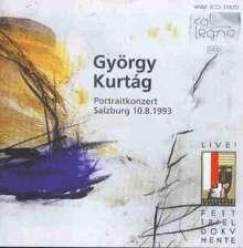 György Kurtag (geb. 1926): Portraitkonzert Salzburg v.10.08.93, 2 CDs