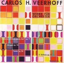 Carlos Veerhoff (1926-2011): Symphonien Nr.1 & 4, CD