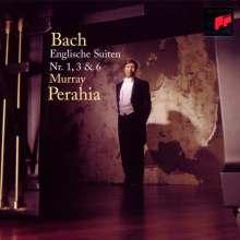 Johann Sebastian Bach (1685-1750): Englische Suiten BWV 806,808,811, CD