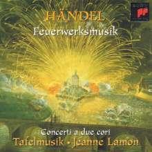 Georg Friedrich Händel (1685-1759): Feuerwerksmusik HWV 351, CD