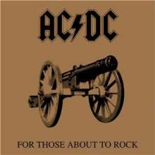 AC/DC: For Those About To Rock, CD