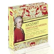 Wolfgang Amadeus Mozart (1756-1791): Sämtliche Messen, 10 CDs