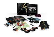 Pink Floyd: The Dark Side Of The Moon (Immersion Box), 3 CDs, 1 DVD-Audio, 1 DVD, 1 Blu-ray Disc und 1 Merchandise