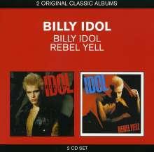 Billy Idol: Billy Idol/Rebel Yell, 2 CDs