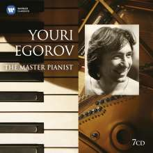 Youri Egorov - The Master Pianist, 7 CDs