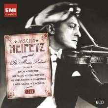 Jascha Heifetz - The Master Violinist (Icon Series), 6 CDs