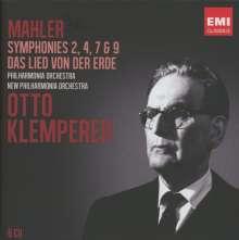 Otto Klemperer - Mahler, 6 CDs