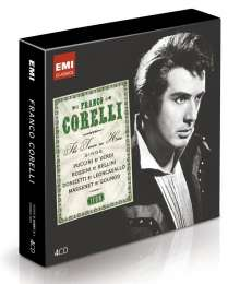 Franco Corelli - The Tenor as Hero (Icon Series), 4 CDs