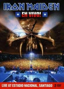Iron Maiden: En Vivo! Live In Santiago De Chile 2011 (Limited Steelbook Edition), 2 DVDs