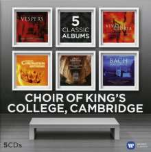 King's College Choir - 5 Classic Albums, 5 CDs