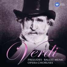 Giuseppe Verdi (1813-1901): Ouvertüren, Ballettmusiken, Chöre, 2 CDs