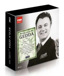 Nicolai Gedda - Lyric Poet of the Tenor Voice (Icon Series), 11 CDs